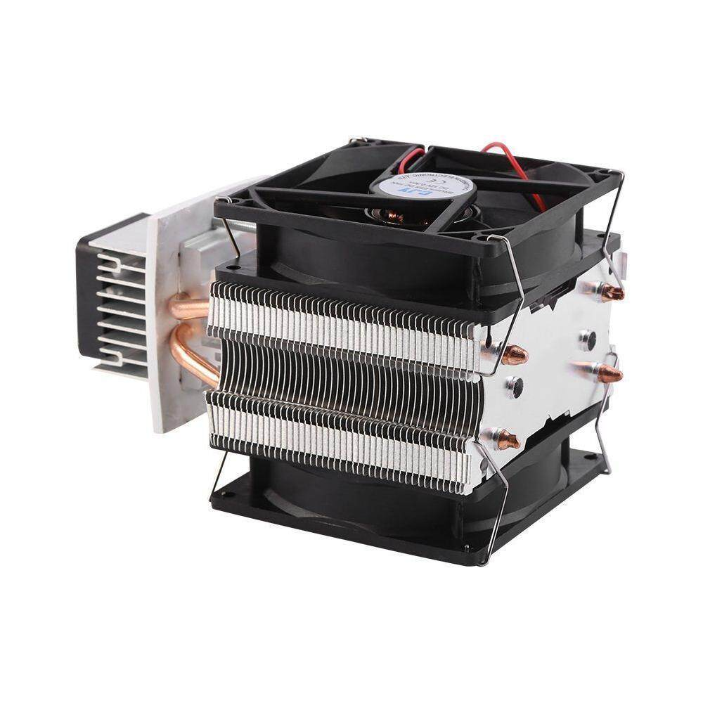 LIYC 12V Thermoelectric Peltier Refrigeration Water Cooling System Cooler Device with Fan - intl