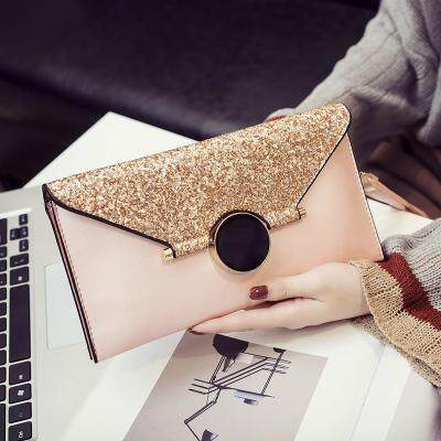 [PRE-ORDER] Women New Envelope Handbag Messenger Bag Wild Temperament Clutch