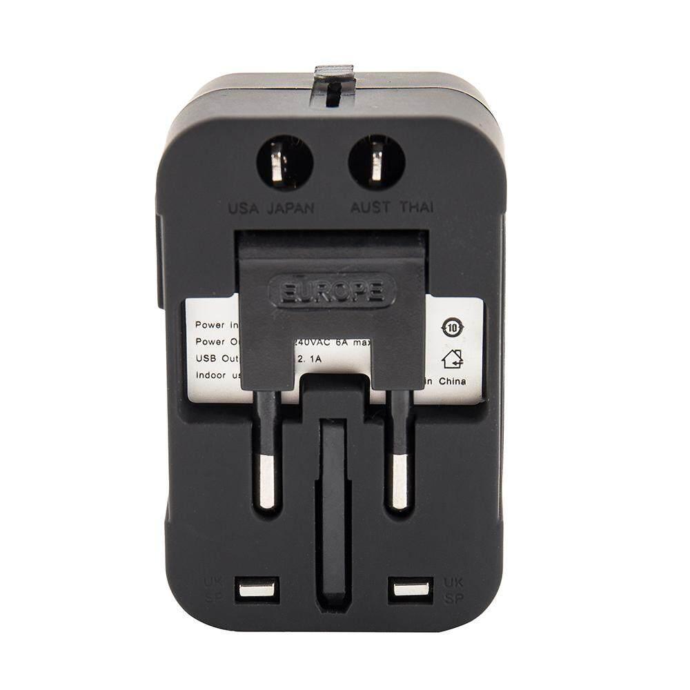 RANGKAP 2 CHARGER MOBIL USB 31 AMP MEMIMPIN SOKET PEMANTIK PENGISIAN CEPAT ADAPTOR UNIVERSAL HITAM.