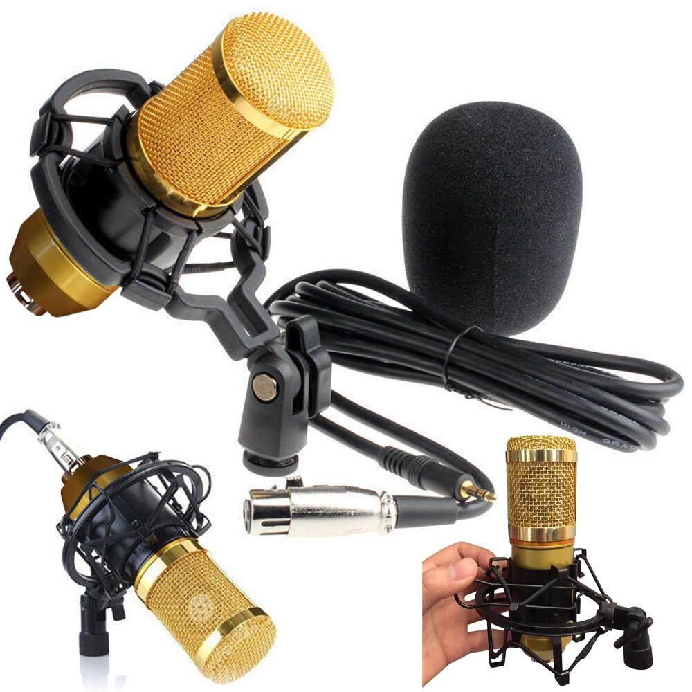 Bigskyie Condenser Pro Audio BM800 Microphone Sound Studio Dynamic Mic +Shock Mount Malaysia
