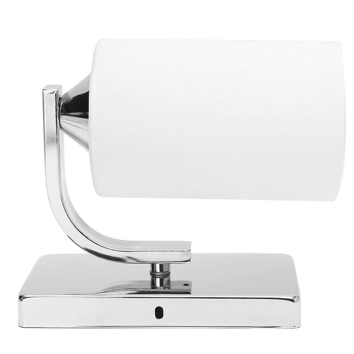 Modern White LED Wall Light Up Down Cylinder Indoor Outdoor Sconce Lighting Lamp