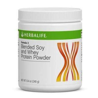 Herbalife Formula 3 (F3) - Blended Soy and Whey Protein Powder