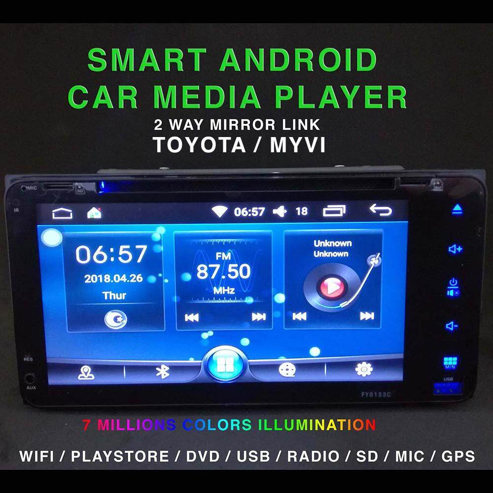 Review Android Iphone Ios Toyota Myvi Wifi Smart Car Media
