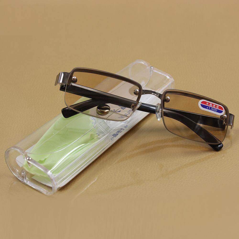 Donghaishuijing Warna Teh Kacamata Baca Model Uniseks Schick Anti Lelah Sangat Ringan Mudah Dibawa Modis Elegan Kacamata Plus Kacamata By Koleksi Taobao.