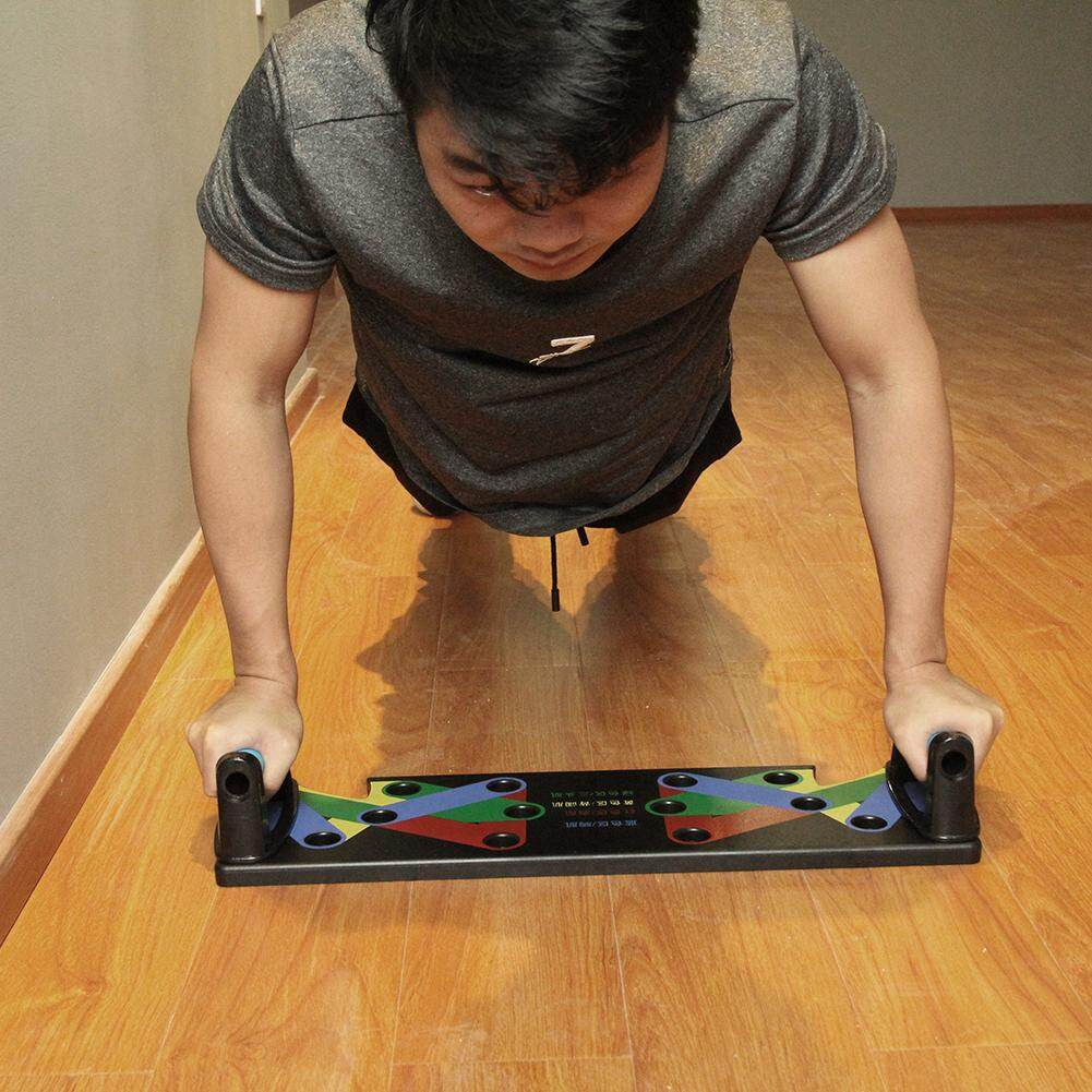9 In 1 Push Up Rack Board System C Exercise Stands By Highfly365.