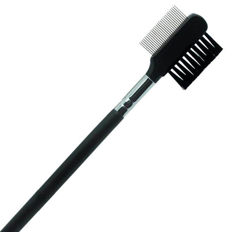 Eyebrow Eyelash Dual-Comb Extension Brush Comb Cosmetic Makeup Tool - intl Philippines