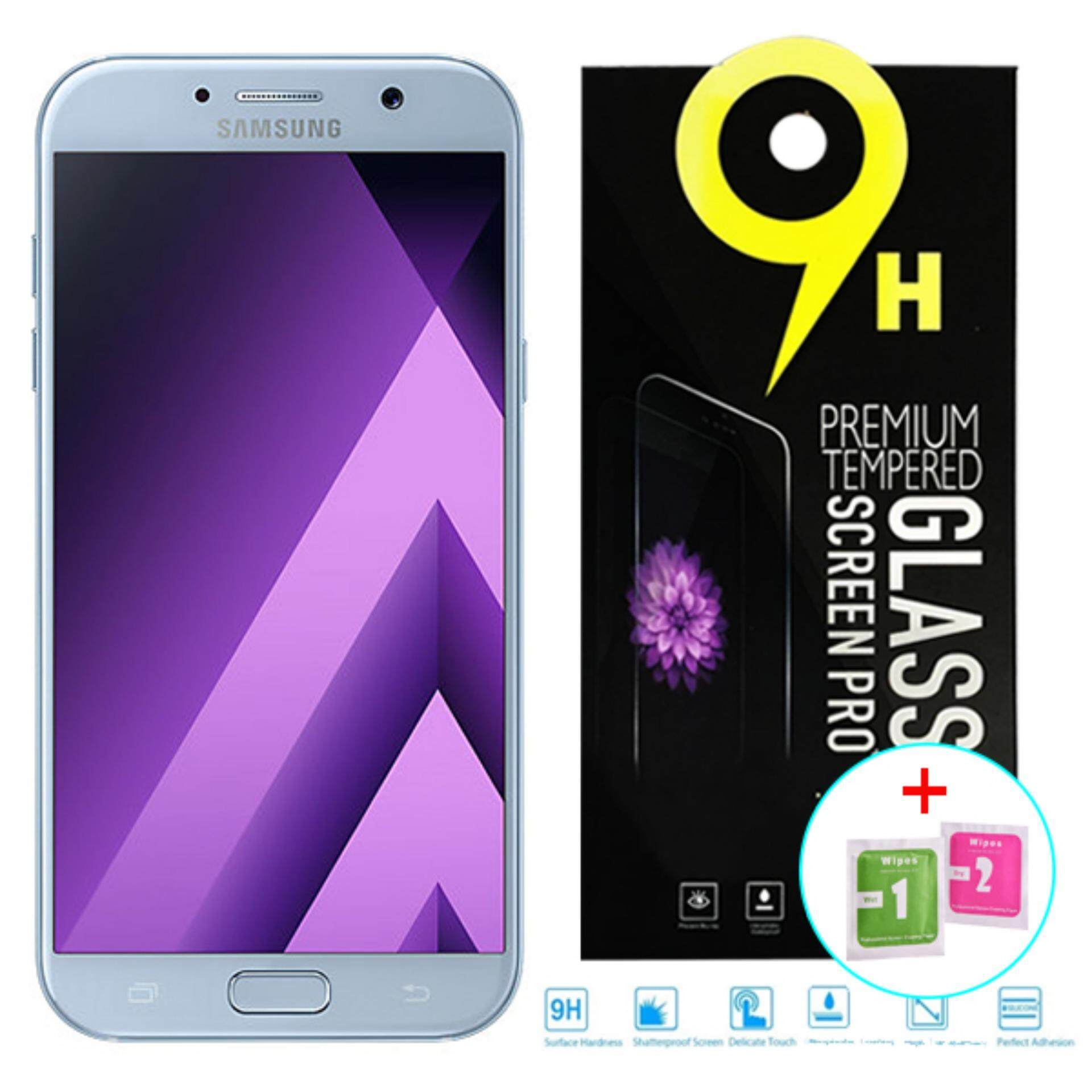 25D 9H Rounded Edge Harden Tempered Glass Samsung Galaxy A7 2017