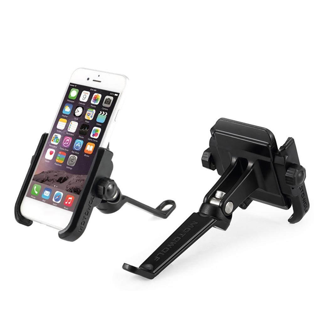 รถจักรยานยนต์รถจักรยานยนต์รถจักรยานยนต์ไฟฟ้า Universal Solid นำทางอะลูมินัมอัลลอยโทรศัพท์มือถือผู้ถือขาตั้ง By Aokaila.
