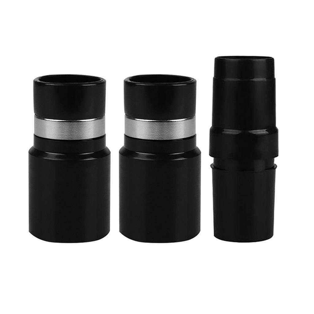Hình ảnh BolehDeals 3 x Vacuum Cleaner Brush Nozzle Hose Connector Adapter 32mm Black