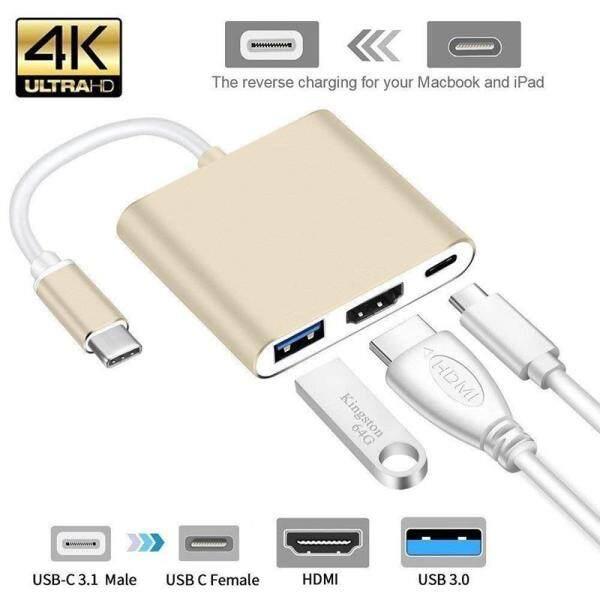 Bảng giá OEM USB Loại C HUB HDMI 4K Adapter USB-C Để Chuyển Đổi Với 3.0 USB 3.1 Cổng Sạc retina MacBook Phong Vũ