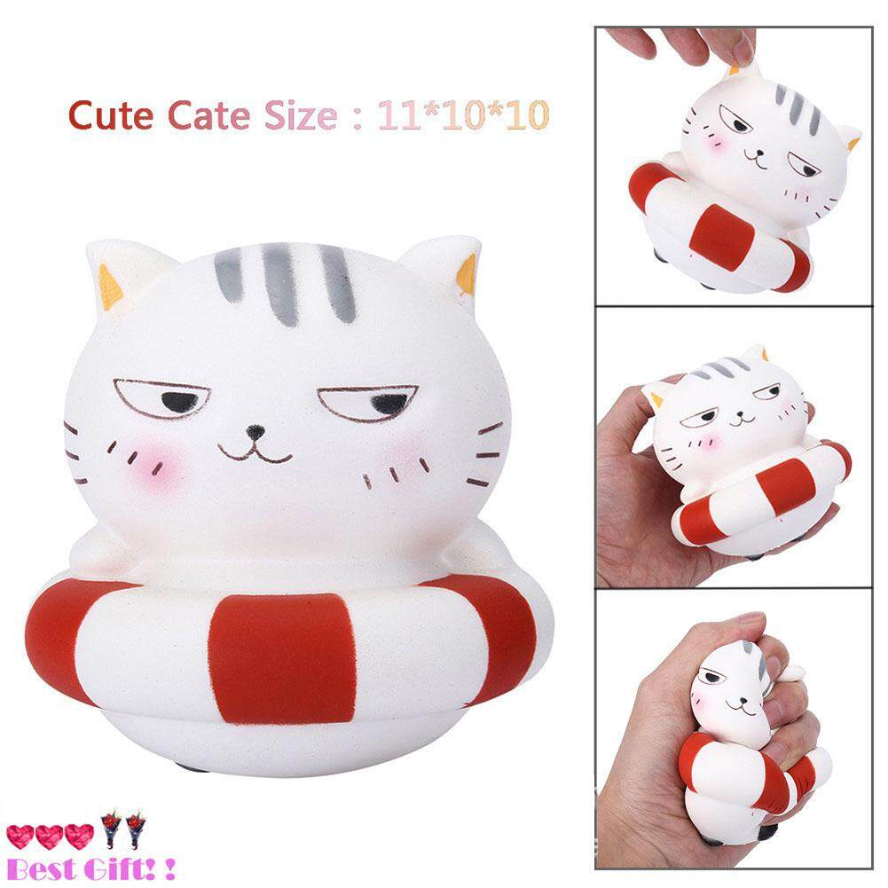Kawaii Jumbo Squishy Tiger Squeeze Bread Super Slow Rising Animal Phone Straps Soft Scented Cake Toys Doll Gift Suitable For Men And Women Of All Ages In All Seasons Mobile Phone Straps