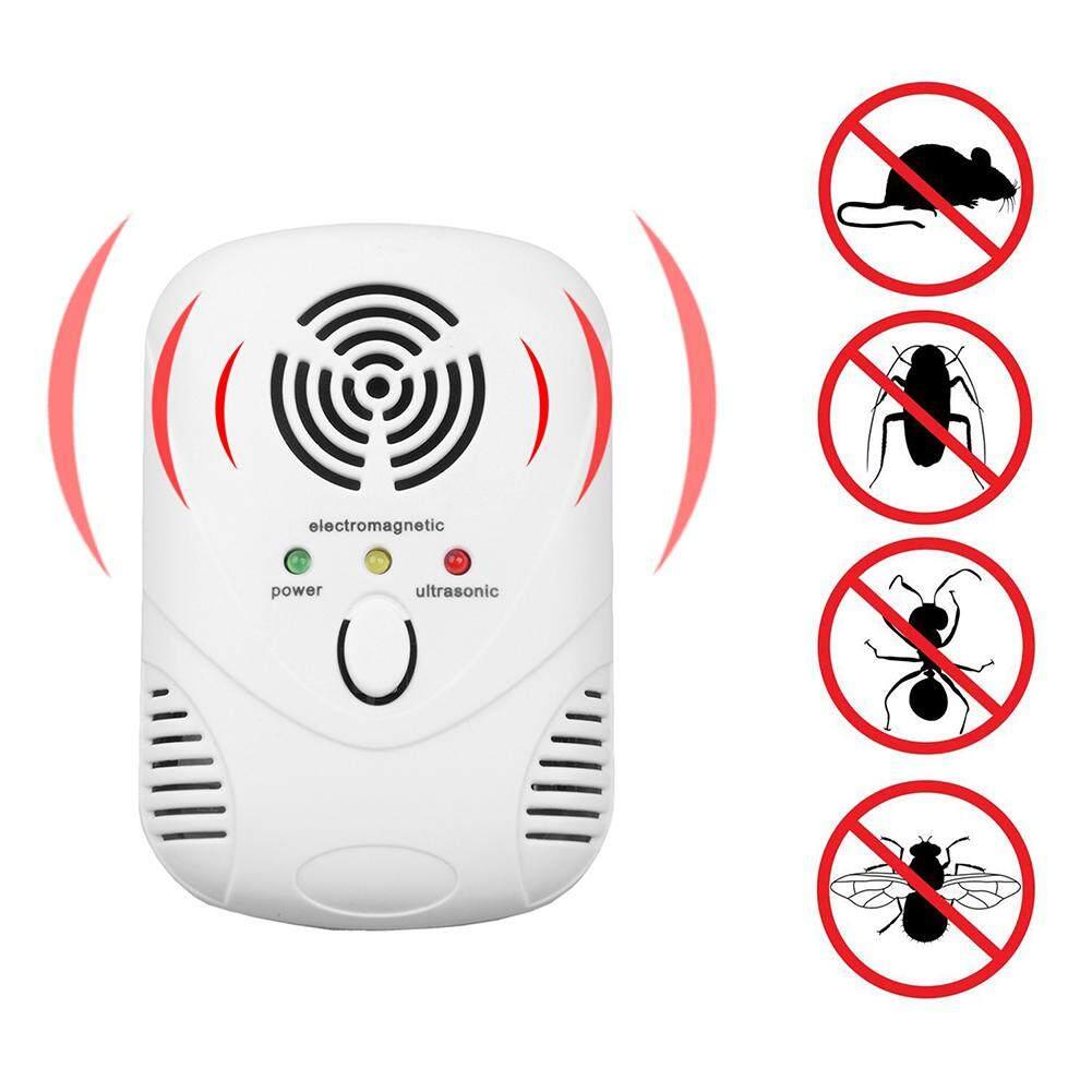 6 W Ultrasonik Elektronik Pembunuh Perangkap Kecoa Tikus Penangkal Nyamuk- Intl