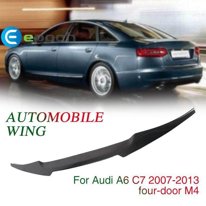 Epoch Spoiler Wing Black 124*10*4cm Car Decoration Audi A6 C7 Sedan 4 - Door