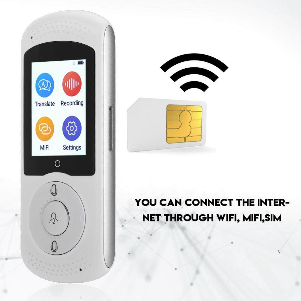 Hình ảnh Intelligent Real Time WIFI Voice Translator Multilingual Travel WiFi and SIM Translator