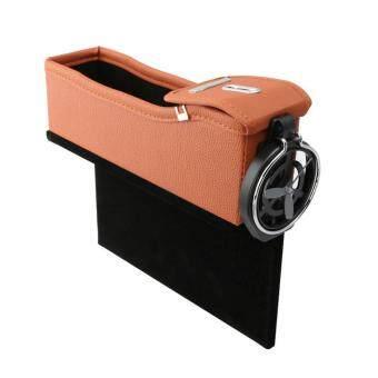 Multifunction Car Seat Gap Storage Box Cup Drink H