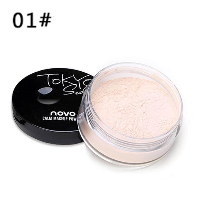 Fuan 1 PC Whitening Bedak Tabur Halus Bubuk Make Up Bedak Finish Bubuk Make Up (1 #)