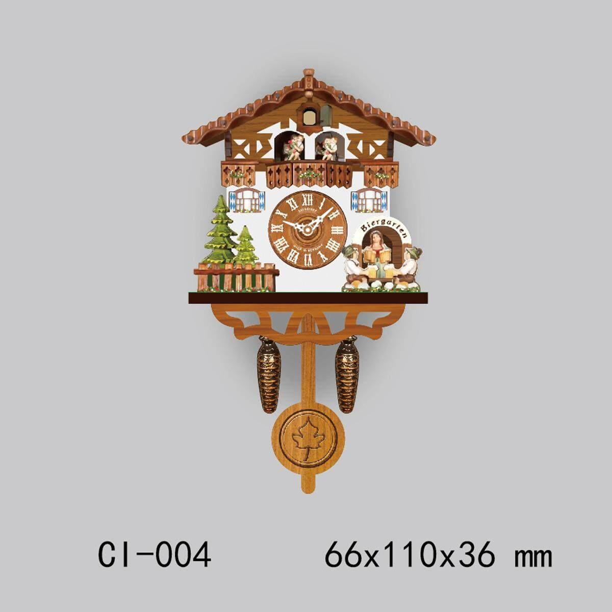 Europea Cuckoo Clock House wall clock large modern art vintage home decor