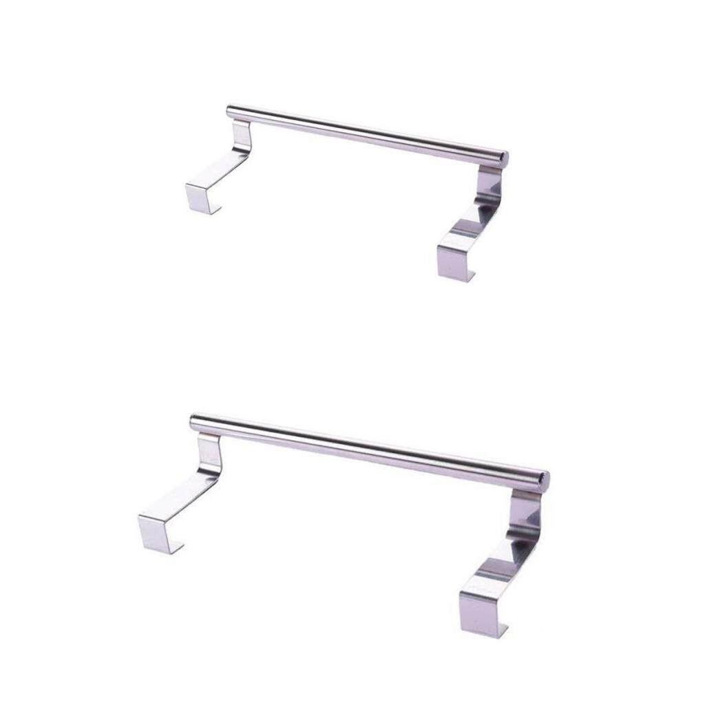 Bolehdeals 2pcs Towel Rail Bar Holder Kitchen Over The Door Cabinet Storage Hanger Hook By Bolehdeals.
