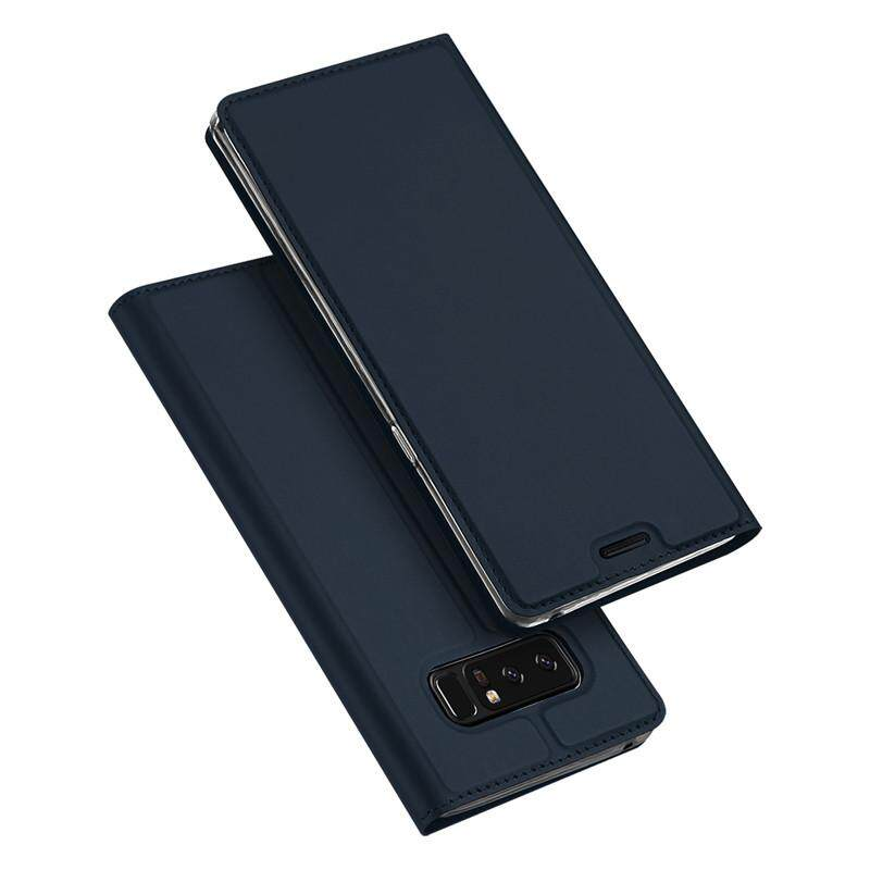 783aa2b1962 DUX Wallet Case PU Leather For Samsung Galaxy Note 8 Card Stand Flip Cover  For Samsung