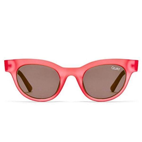 Quay Australia Star Menyerang Wanita Mata Kucing Kacamata Hitam Quay Kylie-Merah Muda/Asap-Intl