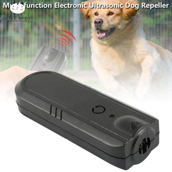 SBY Ultrasonic Dog Repeller with LED Light Anti Barking Puppy Stop Bark Pet Training Device