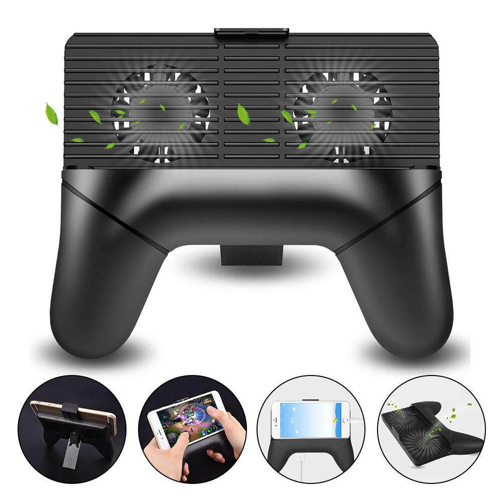HOSdog Mobile Phone Radiator Fan Cooling GamePad For 4 To 6 Inch IOS Android Smartphone - intl