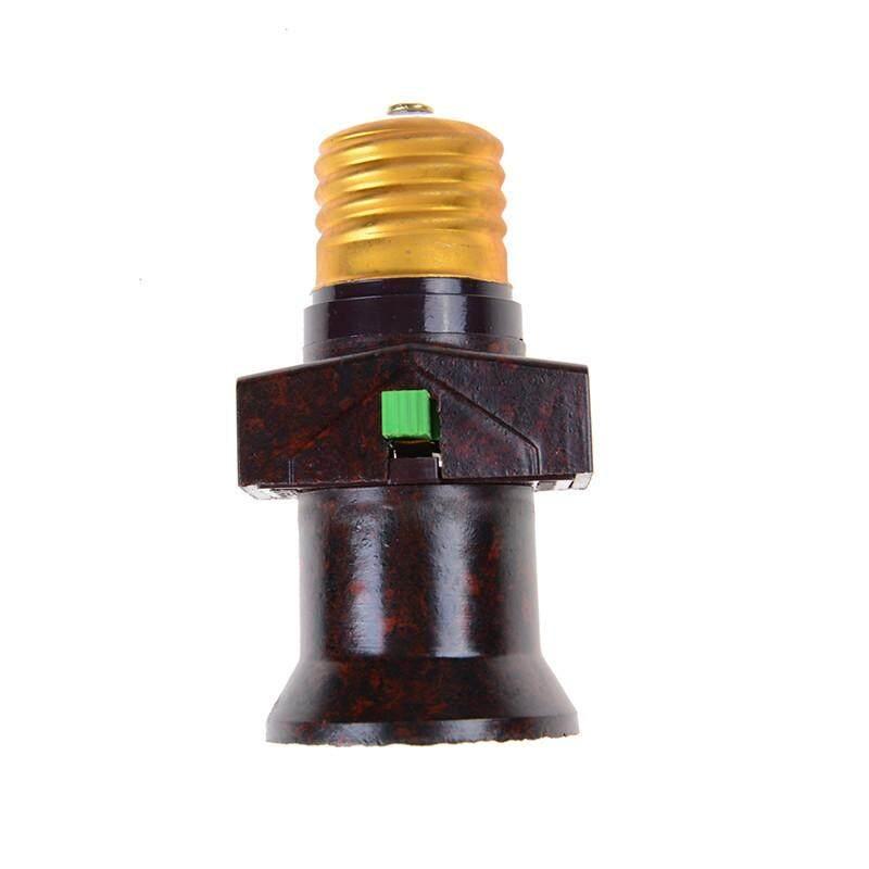 E27 Screw Base Light Holder Convert To Switch Lamp Bulb Socket Adapter 111-240v