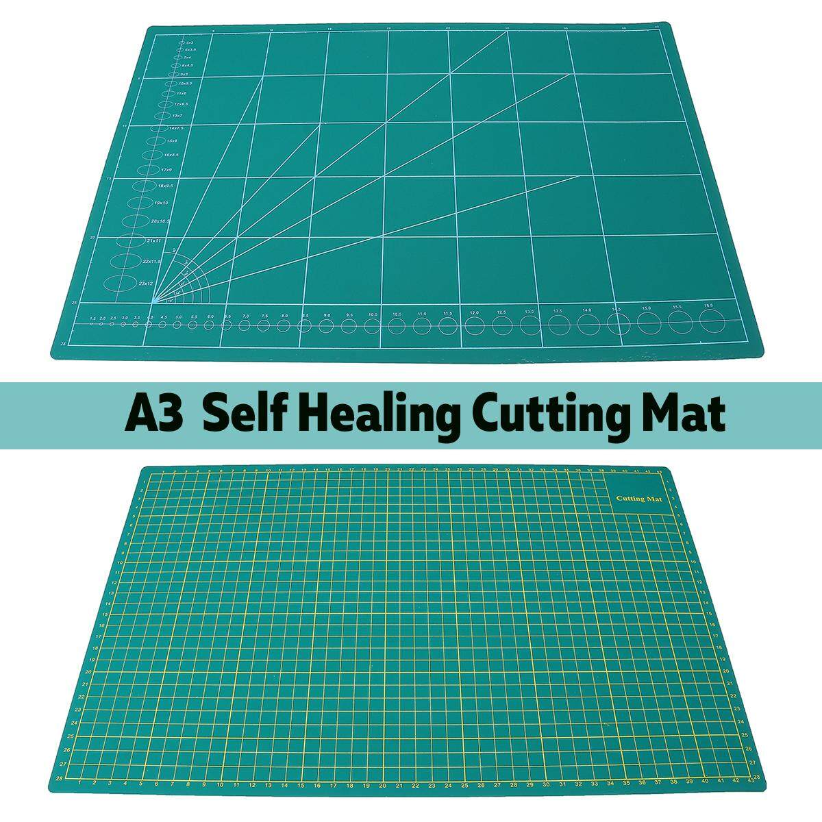 Mua 45x30cm A3 PVC Cutting Mat Cut Pad Board Self-Healing Multi-Purpose DIY Tool