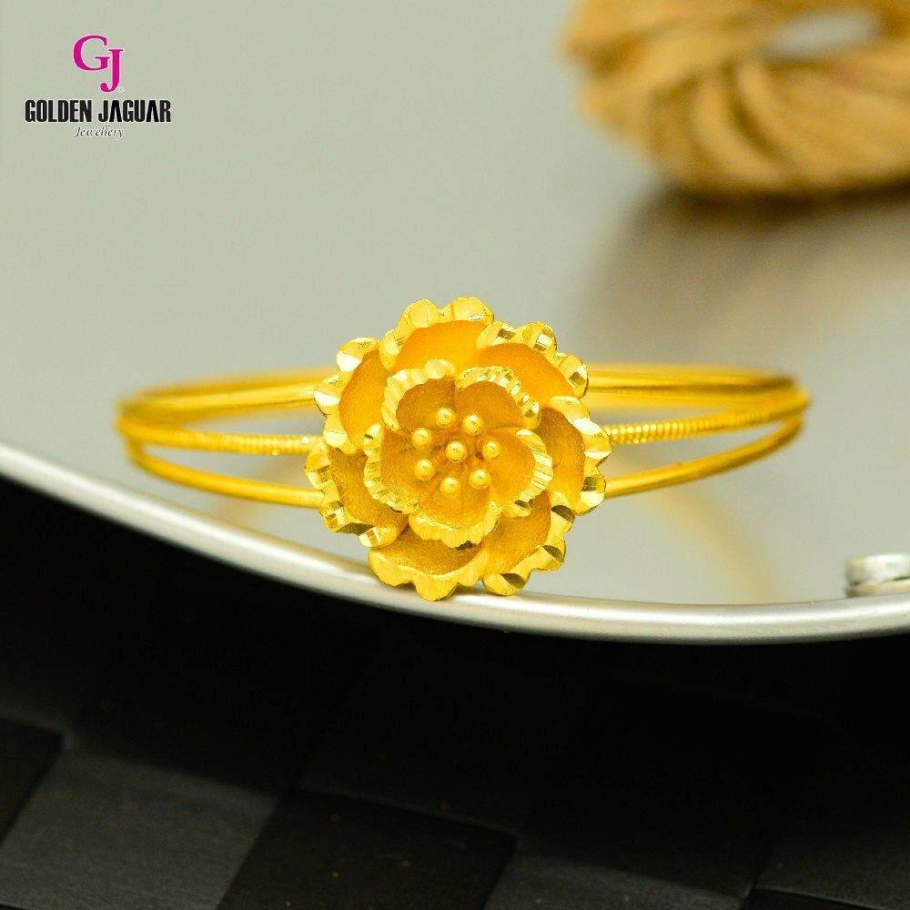 Emas Korea Golden Jaguar Bangle (GJJ-59674)