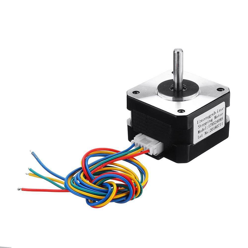 Giá 17HS2408S 4 Đầu 0.6A Nema 17 42 Xe Máy 42 Bygh Động Cơ Bước Cho 3D Máy In CNC Một Phần