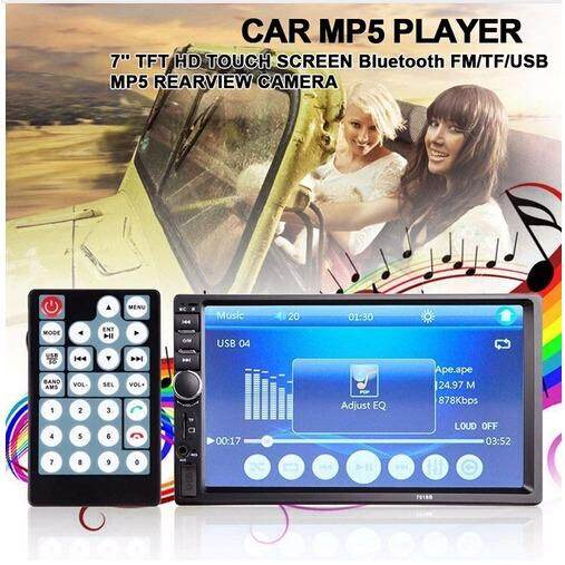 7 ''HD Sentuh Layar Mobil Video Pemutar Bluetooth Stereo Radio FM/Mp5/Mp4/Mp3/Audio -Internasional