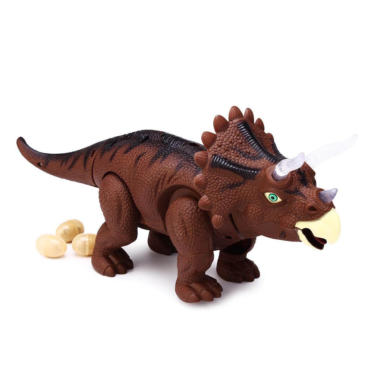 Hình ảnh BCP Remote Control T-Rex RC Walking Dinosaur Lights & Sounds Kids Toy Animal - intl
