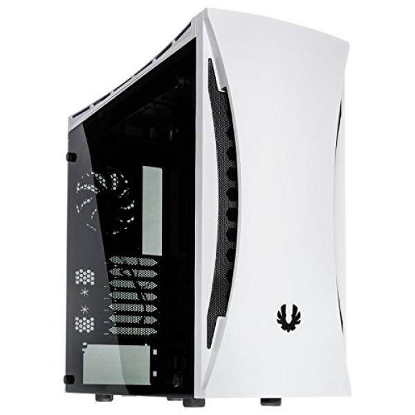 BitFenix Aurora Midi Tower Case White Tempered Glass Window BFC-ARA-300-WKWKK-RP Malaysia