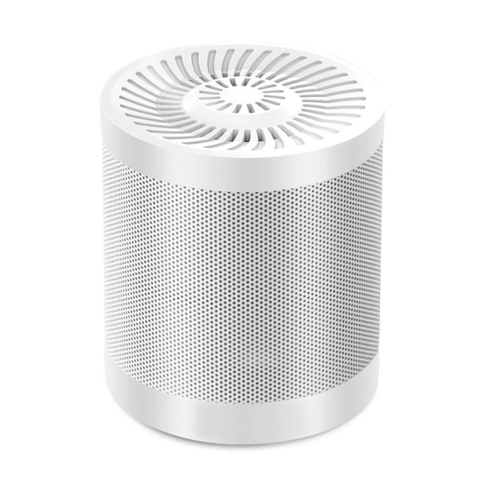 Rooroom Nirkabel Bluetooth V4.0 Speaker Portable Pengeras Suara Rumah dengan 12 Jam Waktu Bermain, 10 Meter Jangkauan Bluetooth, TF Slot Kartu, Alat Bantu Audio Input, Flashdisk, Dukungan untuk Smartphone/PC (Hitam)-Intl