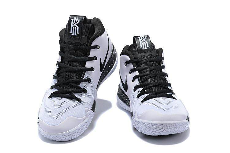 Kyrie ukuran = 40-45 Keras All-Star MVP Olahraga Sepatu Pria Sepatu Basket Irving 4 Putih Hitam Low Top