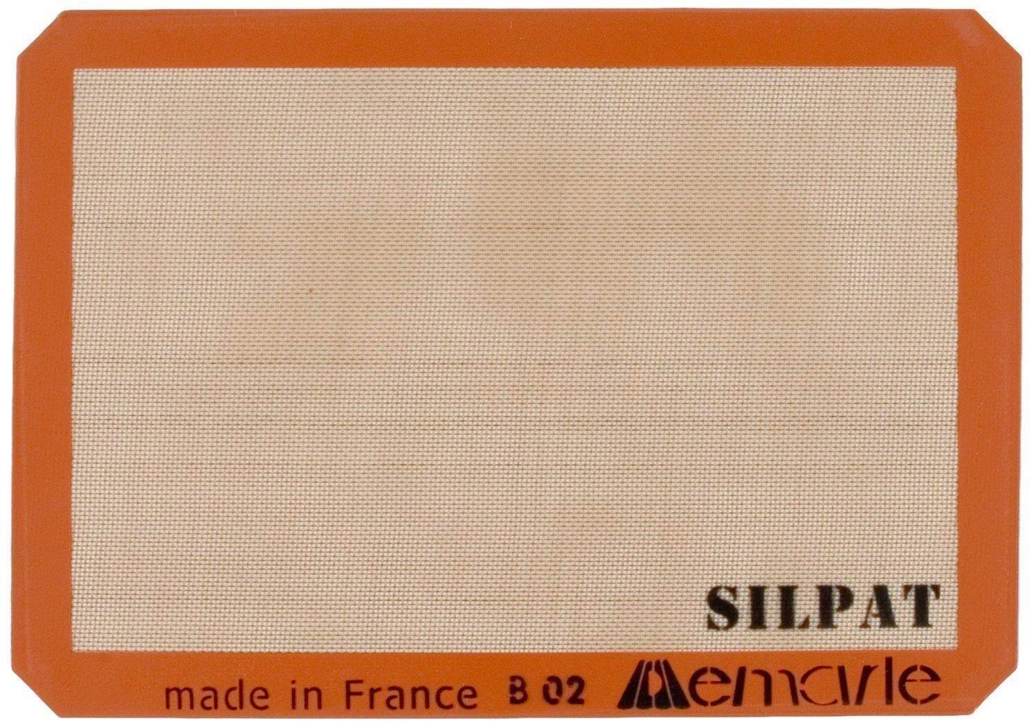 Silpat Premium Non-Stick Silicone Baking Mat, Half Sheet Size, 11-5/8inch x 16-1/2inch