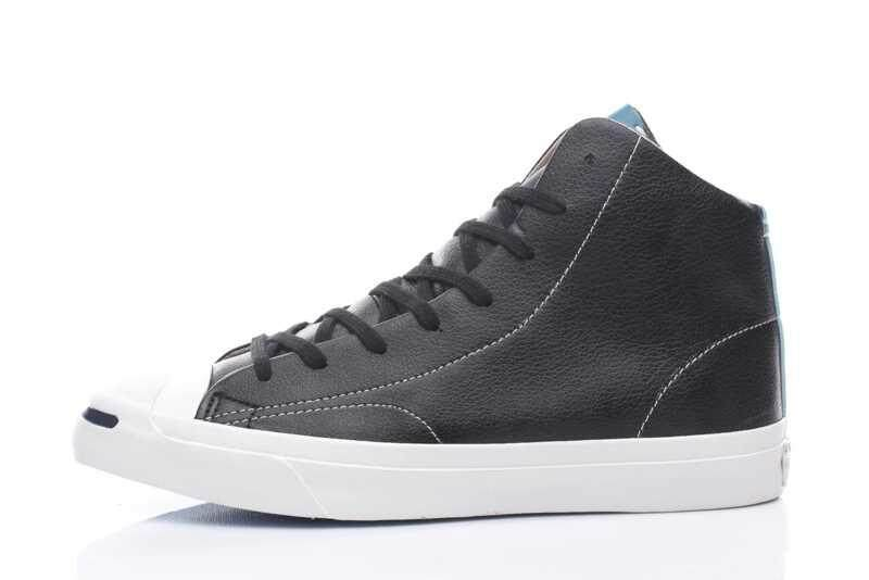 Discount! Hot Sale New Style 2018 Unisex Convers High Top Jack Purcell Women's and Men's Sneakers Leather Casual Shoes Color: Black - intl