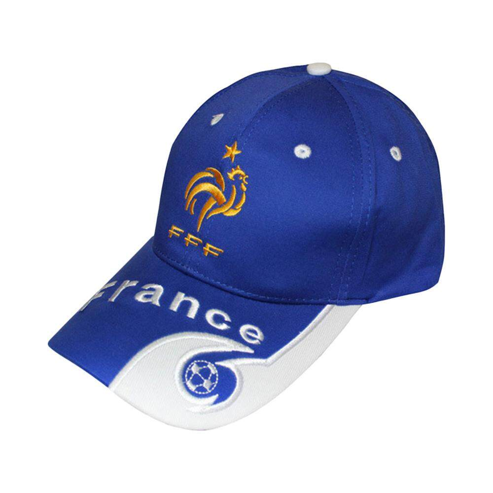 Sunyoo-2018 Russia World Cup Football Fans Hats Headband With Colorful National Flag Headwear Baseball Hat-French Blue - Intl By Sunyoo.