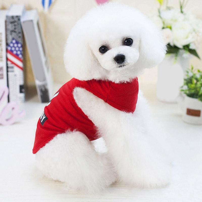 ... Dogbaby Huruf Cetak Anjing Kecil Lucu Rompi Kucing Musim Panas Pakaian Hewan Peliharaan - 3 ...