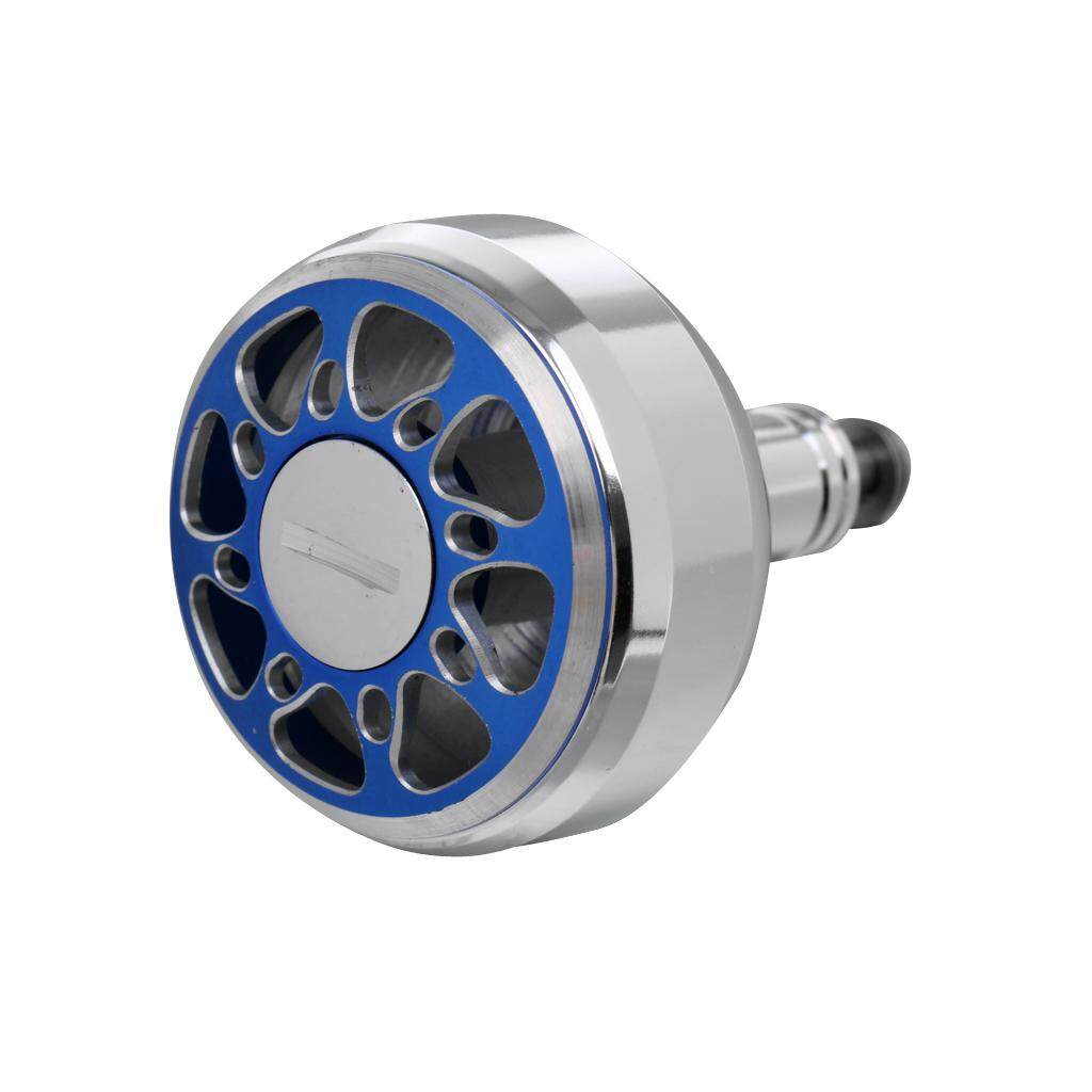 Flameer Stainless Steel Fishing Reel Handle Ball Knob for S/D/A Spinning Reel Blue