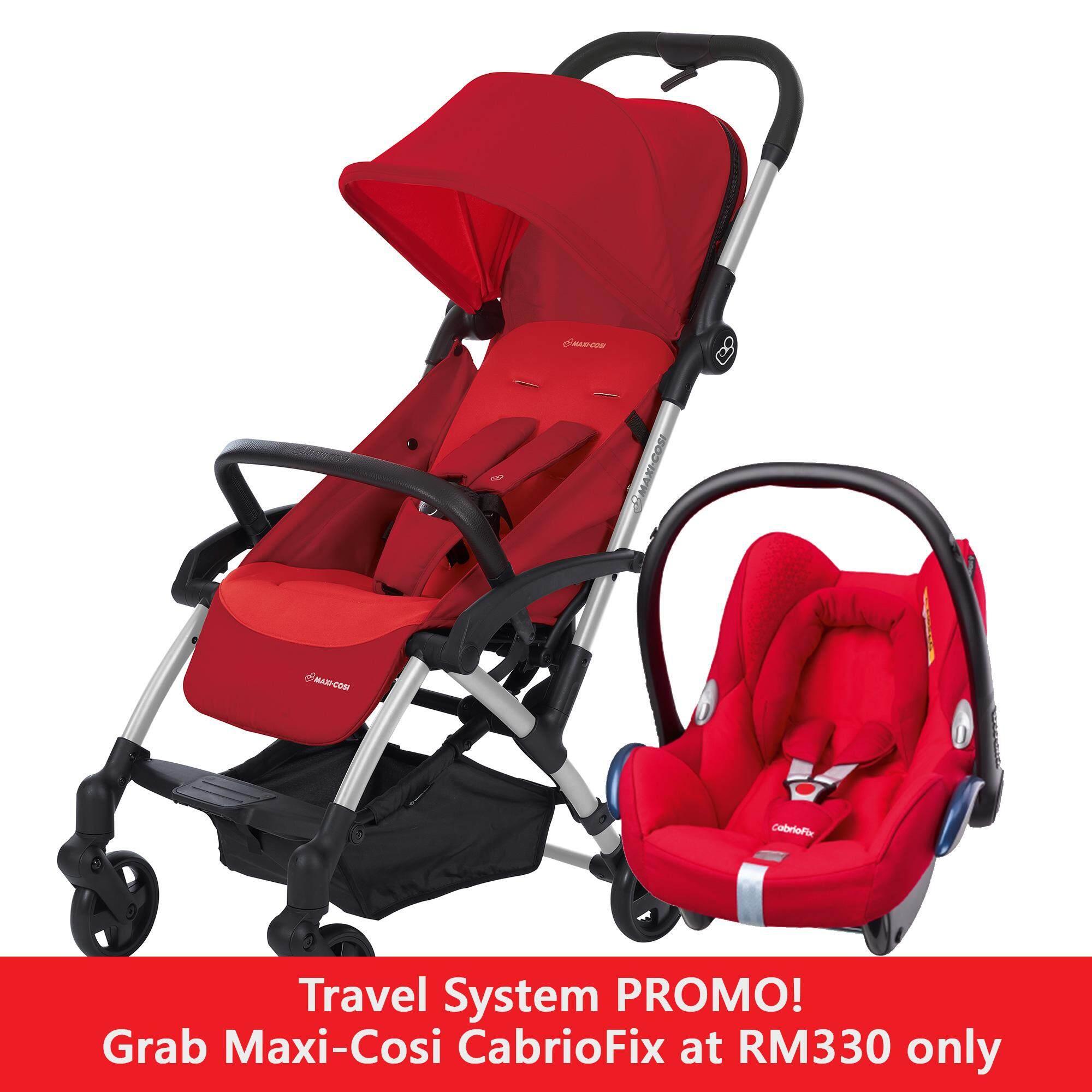Maxi Cosi Travel System Laika Stroller CabriFix Car Seat