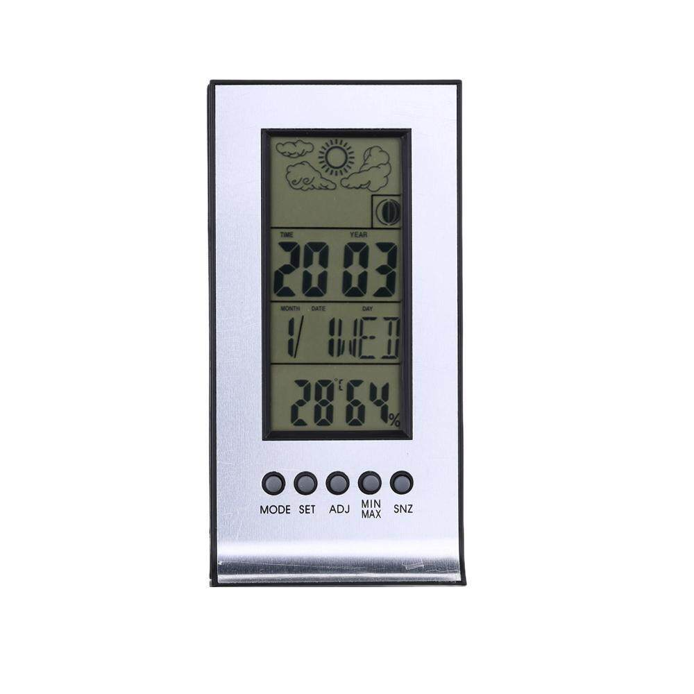 Buy Sell Cheapest Jinqs Digital Alarm Best Quality Product Deals Multifunction Temperature Humidity Meter With Clock Date Week Calender Htc 2 Multi Function Indoor Monitor Hygrometer Desk Thermometer Lcd Display Lunar Phase