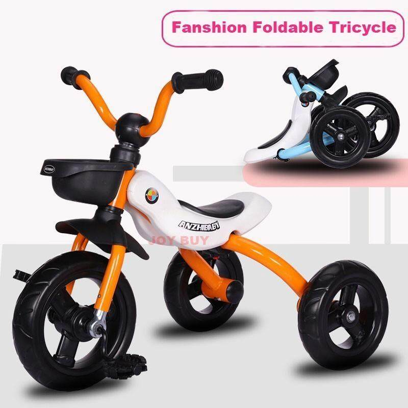 1-3yrs FoldableThree Wheels Stroller Tricycle Baby Bicycle Singapore