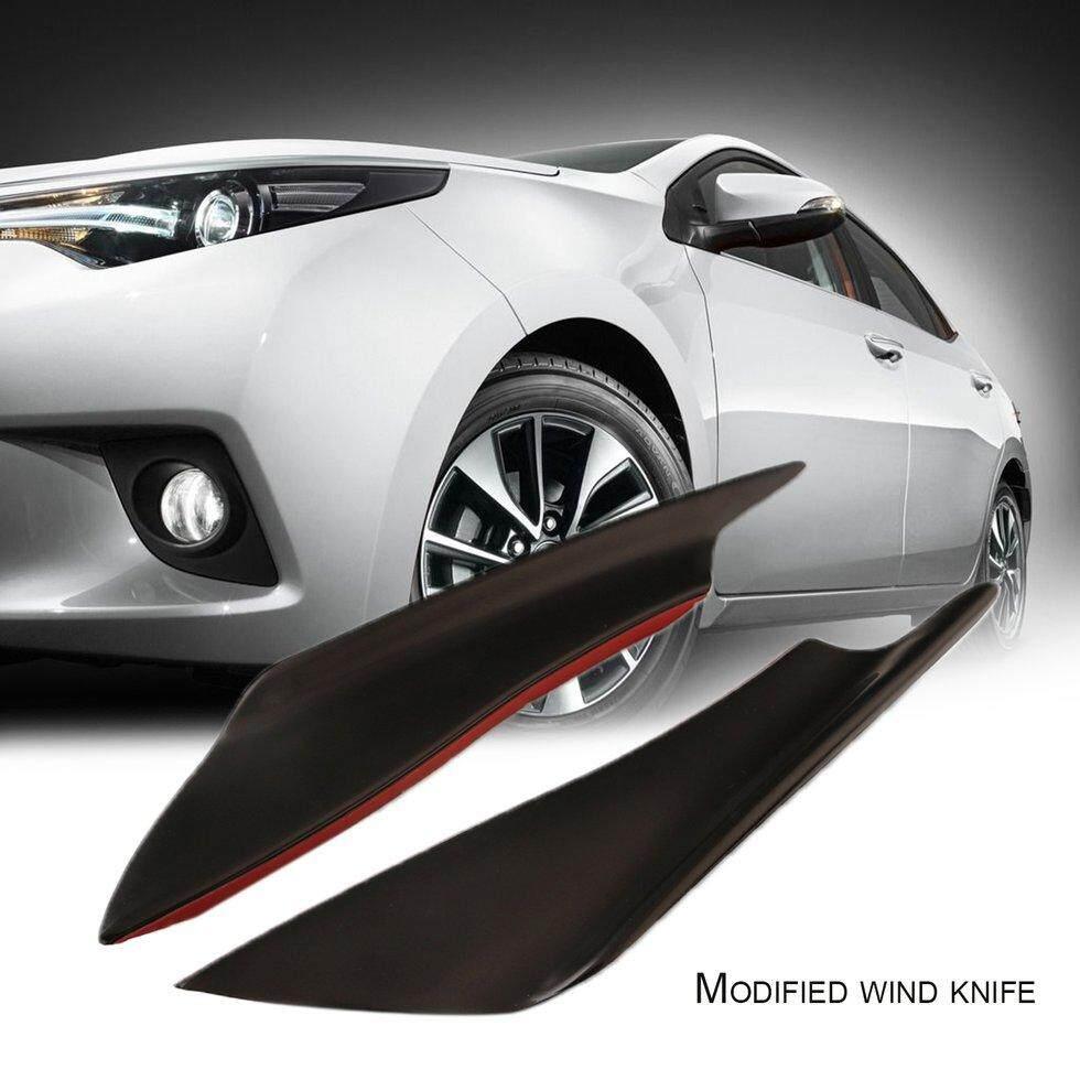 Goft Potongan Corak Mobil Universal Air Kn * Fe Depan Bumper Mobil Auto Penjaga Sudut Pelindung Hitam By Giftforyou.