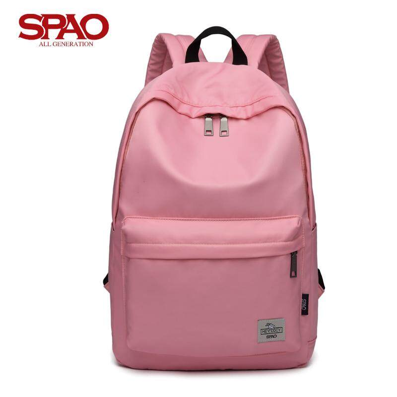 South Korea SPAO Genuine Product Shoppe New Style Kim Hee Chul Celebrity Style Male Backpack Female Backpack Fashion Korean Style Middle School Students School Bag