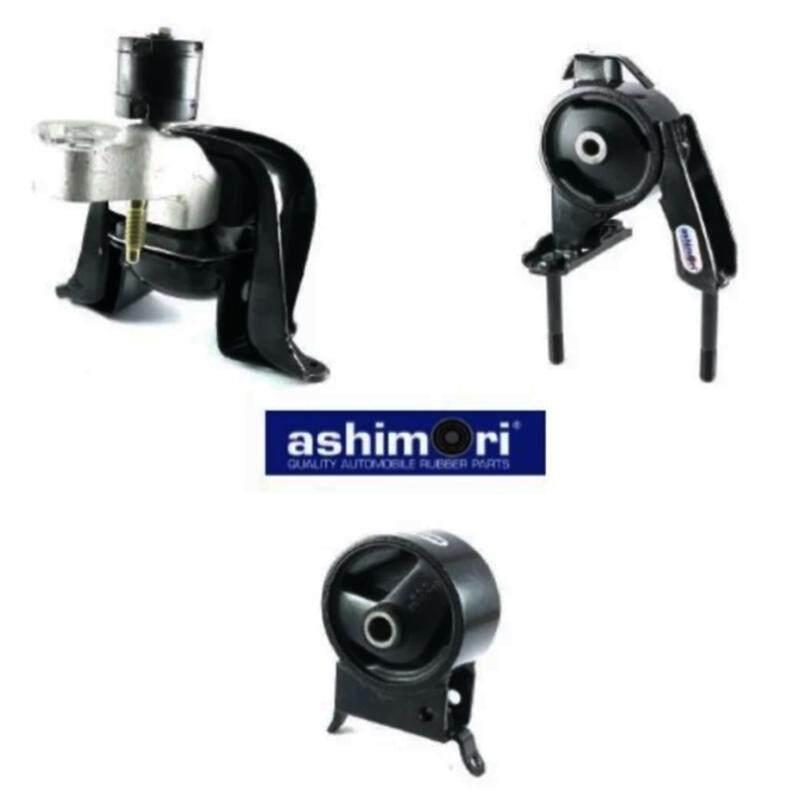 Ashimori Engine Mount Set Toyota Vios NCP42 1.5L (Auto) 2002-2007