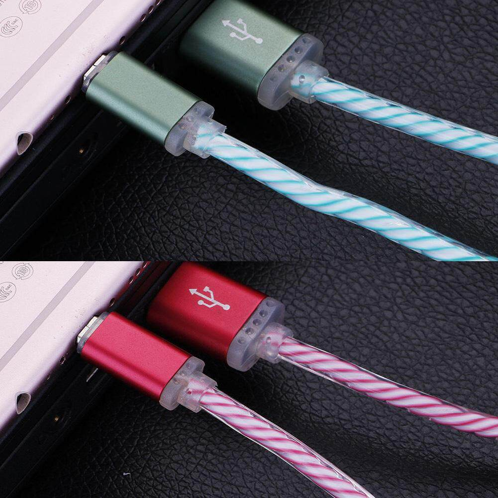 Light-up LED USB Data Sync Charger Cable Charging Cord For Android .