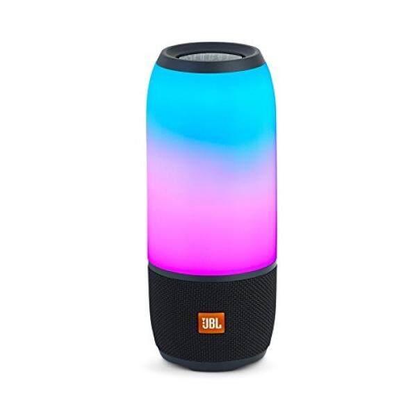 JBL Pulse 3 Wireless Bluetooth IPX7 Waterproof Speaker (Black) - intl