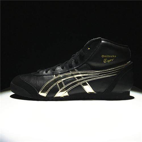 Casual Sports Shoes SpEVA Running Shoes Hard-Wearing New Style Pop OCTIPOD FlyteFoam Official Sneakers Good Quality Asics-Onitsuka-Tiger Mexico 66 High Top Women's EU:36 Black Gold - intl