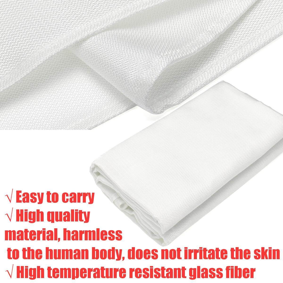 Welding Blanket 4 x 6 Flame Retardant Fiberglass Safety Shield Grommets - intl